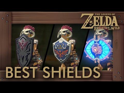 Zelda Breath of the Wild - Best Shields by Durability + Parry Power (видео)