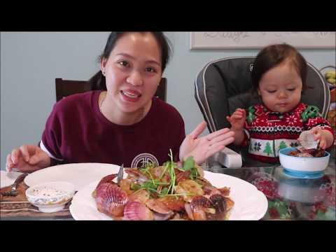 Vlog 554 ll Lần Đầu Ăn SÒ ĐIỆP NGŨ SẮC Nhập Khẩu Từ Nhật Sang Mỹ. - Thời lượng: 25 phút.