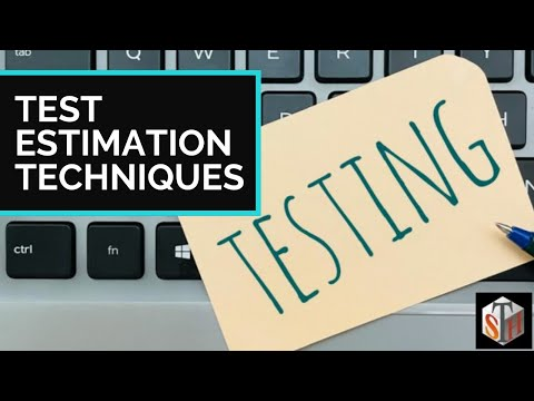Test Estimation Techniques - A step by step process - Software cost estimation