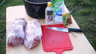 Мягкий шашлык из свинины. Рецепт вкусного маринада в уксусе [Домашняя кухня]