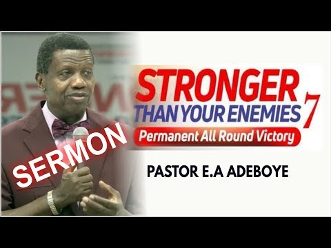 Pastor E.A Adeboye Sermon @ RCCG July 2018 HOLY GHOST SERVICE