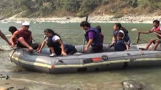 White water rafting gives thrilling experience to adventurers in Sikkim