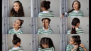 Video QUICK AND EASY HAIRSTYLES MP3, 3GP, MP4, WEBM, AVI, FLV Maret 2019
