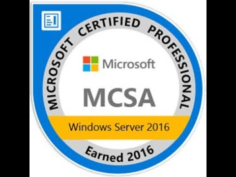 Preparing for Exam 70-740 - Installation, Storage, and Compute with Windows server 2016