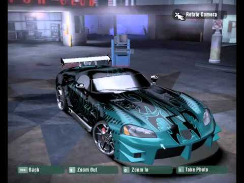 Songs In Nfs Carbon Tuning Creation Car For Symb1an Dodge Viper