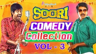 Video Soori Comedy Collection | Vol 3 | Soori Comedy Scenes | Soori Comedy | Soori Tamil Comedy MP3, 3GP, MP4, WEBM, AVI, FLV September 2018