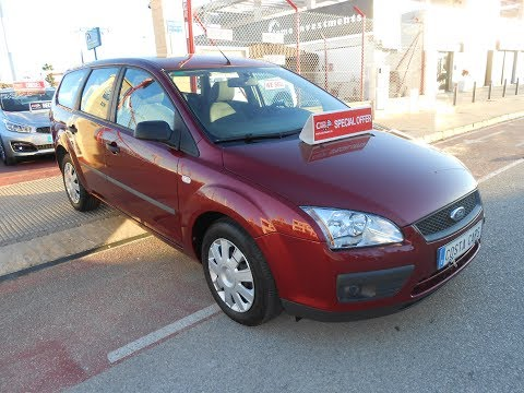 See video Ford FOCUS ESTATE 1.6i