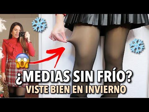 OUTFITS ABRIGADA pero ESTILOSA ¿MEDIAS SIN FRÍO? ¡TODOS MIS TRUCOS! (Vlogmas 10)   #AdvientoBstyle