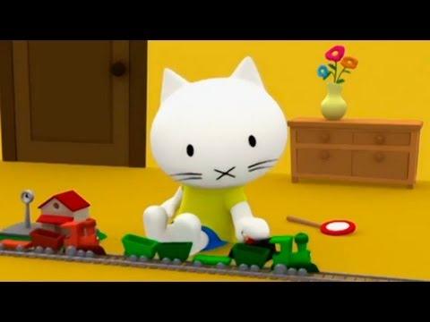 Мультики Детям - Мусти - Паровозики - про игрушечные поезда (видео)