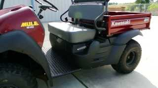 9. 2014 Kawasaki Mule 610 Red  FREE Top and Hitch Included  $7,799   Overview and Review