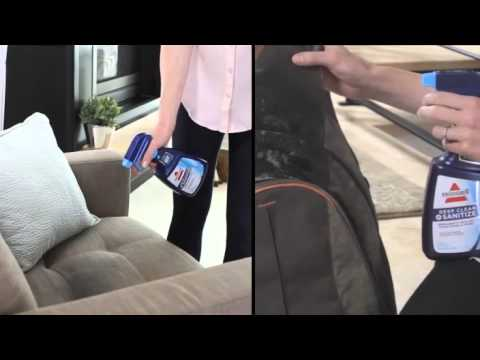 BISSELL® Deep Clean + Sanitize Stain & Odor Remover 9440 - Demo Video