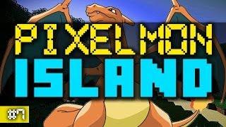 Minecraft PIXELMON ISLAND #7 (Pixelmon Island Season 2) with Vikkstar&Ali A