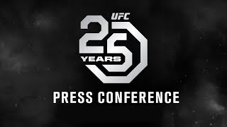 Video UFC 25th Anniversary Press Conference MP3, 3GP, MP4, WEBM, AVI, FLV Juni 2019