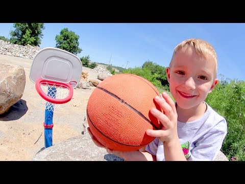 FATHER SON BASKETBALL ADVENTURE!