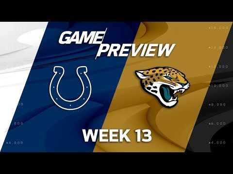 Video: Indianapolis Colts vs. Jacksonville Jaguars | NFL Week 13 Game Preview