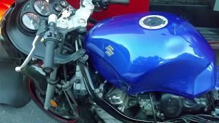 9. Suzuki Katana 600 carburetor floats problem