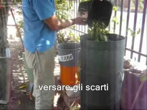 Istruzioni per un compostaggio domestico... in 2 minuti!