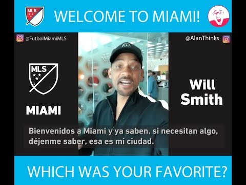 WELCOME TO MIAMI DAVID BECKHAM & MLS Professional Soccer!
