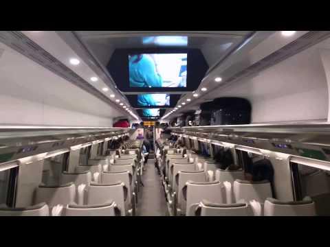 Pendolino in Poland, tour, interior, exterior. PKP Intercity Premium