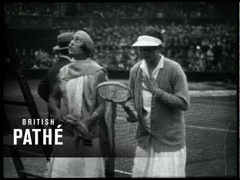Wimbledon Tennis Finals – Archive footage montage, 1910-1970