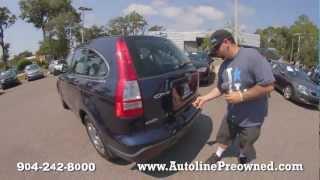Autoline's 2008 Honda CR-V LX  Walk Around Review Test Drive