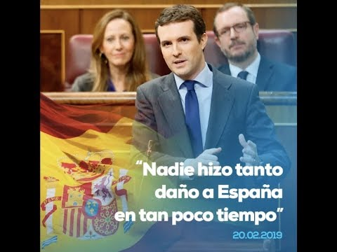 Nadie hizo tanto daño a España en tan poco tiempo...