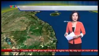 Bản Tin Thời Tiết Cập Nhật - Ngày 16/12/2014 Miền Bắc Có Tuyết Rơi !