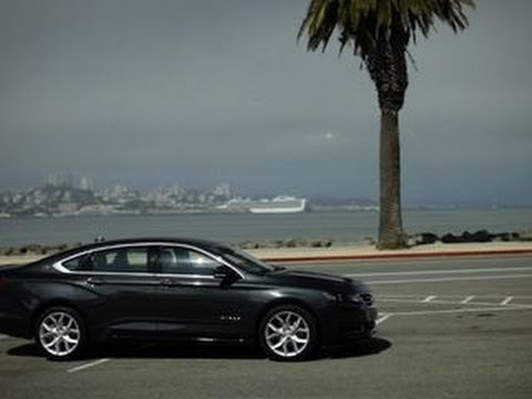 Chevrolet - http://cnet.co/18khQEY The 2014 Chevrolet Impala is not your low-riding, grandfather-driving, rental-car-roaming vehicle anymore. In fact it's now a nicely a...
