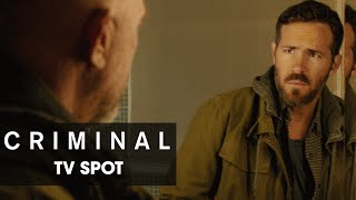 "Criminal (2016 Movie) Official TV Spot – ""Impossible"""