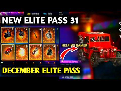 FREE FIRE NEW ELITE PASS FULL VIDEO|SEASON  31 ELITE PASS FREE FIRE!