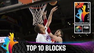 Top 10 Blocks - 2014 FIBA Basketball World Cup