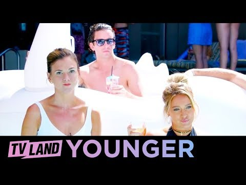 NYC, Summertime & Pool Parties | Behind the Scenes | Younger (Season 3 Ep. 9) | TV Land