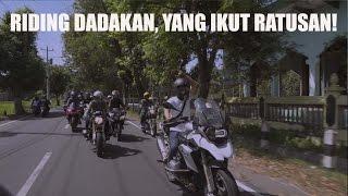 MotoVLog - Riding dan Nyumbang Buku Bareng Den Dimas dan Perpuseru di Jogja