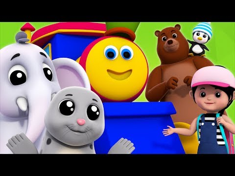 We're Going To The Zoo | Bob The Train | Songs For Kids
