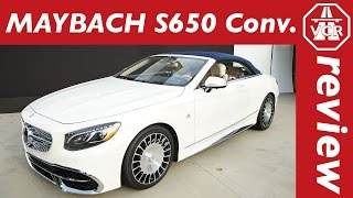2016 Mercedes-Maybach S 650 Convertible - world premiere, debut, first insights by Video Car Review