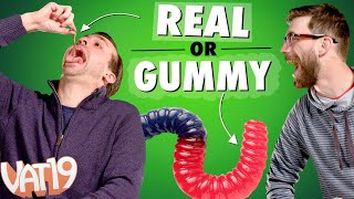 Video We Ate Worms, Brains, and Hair! | Gummy VS Real Challenge #1 MP3, 3GP, MP4, WEBM, AVI, FLV Maret 2019
