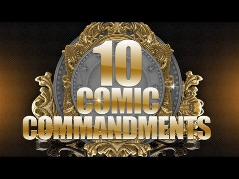 Ten Comic Commandments