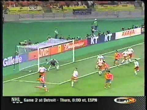 26 –Hwang Sun-Hong, South Korea v Poland, 2002 World Cup – 90 World Cup Minutes In 90 Days