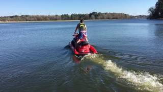 10. 2000 BAD ASS SEADOO GTX MILLENNIUM EDITION 3 Passenger 02/24/2017 Test Run