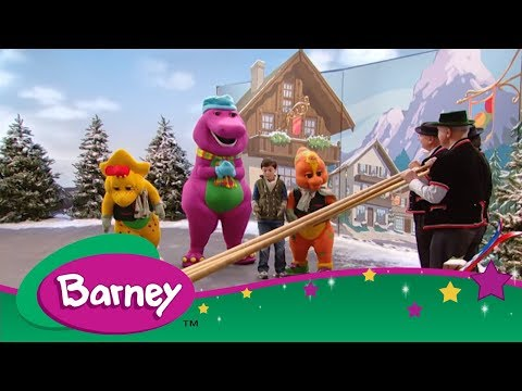 Barney's Around the World Adventure ✈️ Part 1 (Full Episode)