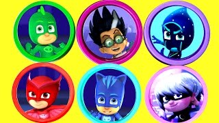 Video PJ MASKS Play-Doh Toy Surprise Opening with Catboy, Owlette, Gekko, Romeo Toys and Surprise Eggs MP3, 3GP, MP4, WEBM, AVI, FLV Juni 2017