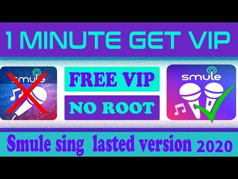 Smule Sing Hack Lasted Version 6.2.9 - How To Get Smule Sing Free VIP Acces Pass 2019