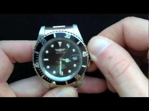 Invicta 8926 Pro Diver Automatikuhr Testbericht Video