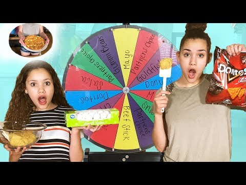 Mystery Wheel Cookie Challenge! (Gracie vs Sierra Haschak)