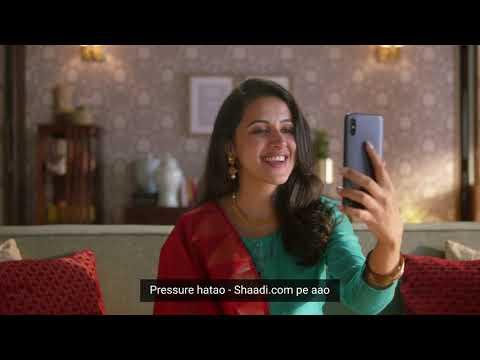 Shaadi.com-#TakeThePressureOff