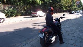10. 2013 Harley Night Rod Special ride & brake