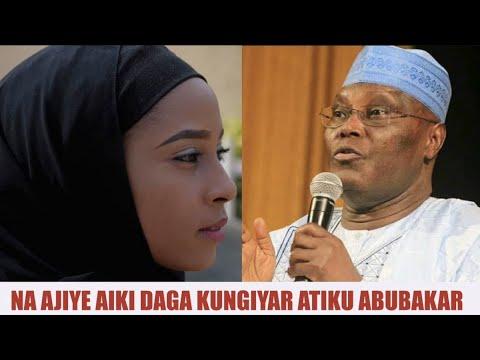 Jaruma Maryam Ta Fice Daga Tafiyar Atiku Abubakar   Kannywood News   Labaran Kannywood