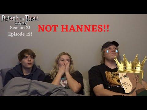 "Attack on Titan Season 2 Episode 12 Reaction! ""Scream"" Taking His GF's Anime V-card! SEASON FINALE!!"