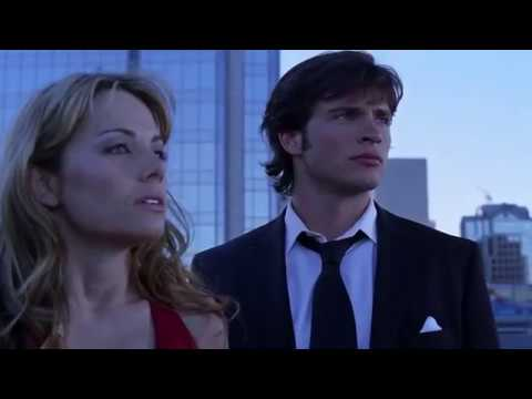 Smallville 5x06 - Clark saves Lois from some goons