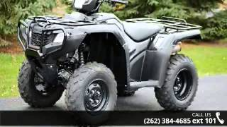 8. 2015 Honda FourTrax Foreman 4x4 Power Steering  - Action ...